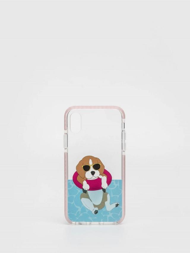 CASETiFY iPhone X 游泳米格魯手機殼