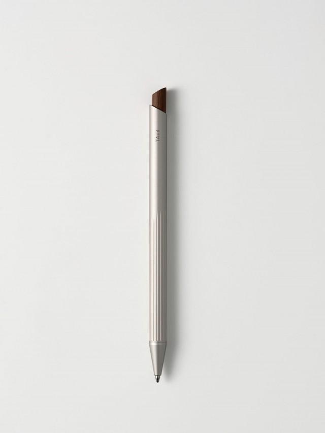 TA+d 燻竹原子筆 - 鈦