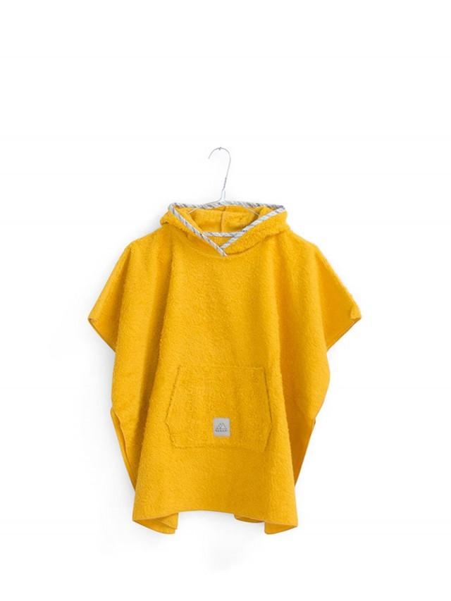 NANAMI 寶貝浴巾斗篷 - 鉻黄色