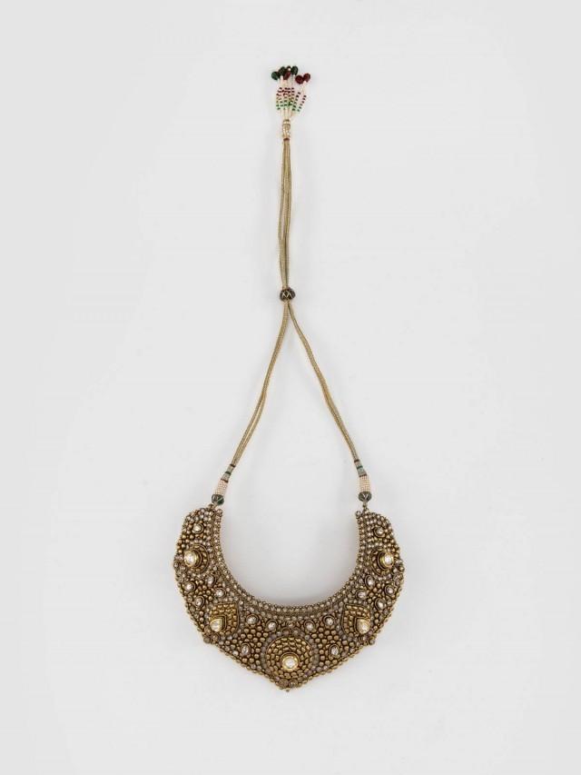 Carol Chugani 異國風黃金雕飾項鍊