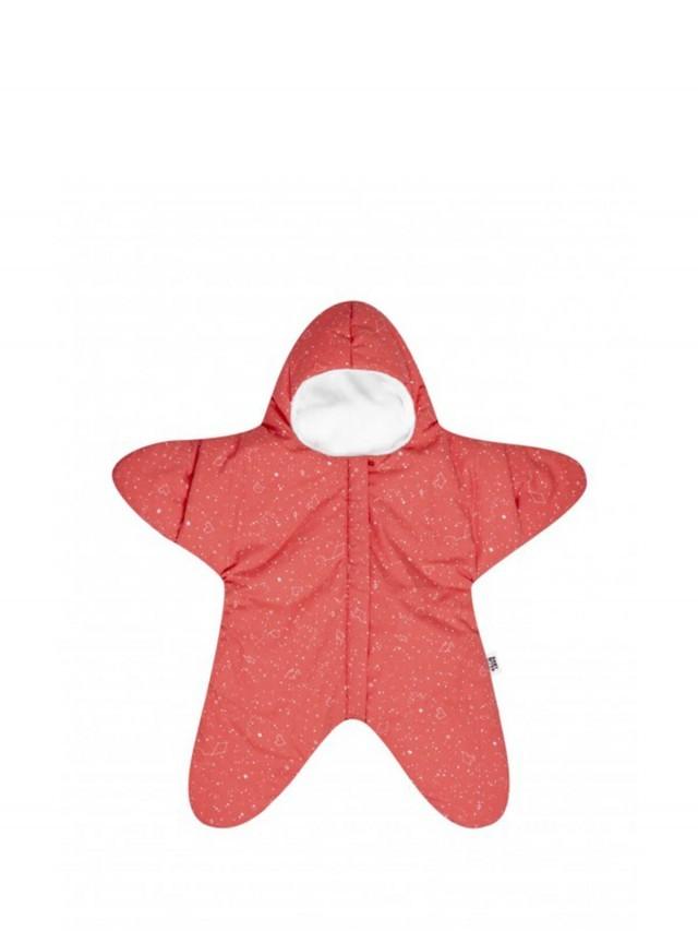 BABY BITES 嬰兒版海星睡袋 - 標準版 x 珊瑚橘