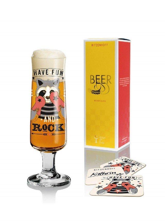 RITZENHOFF BEER 新式啤酒杯 / 拳擊浣熊