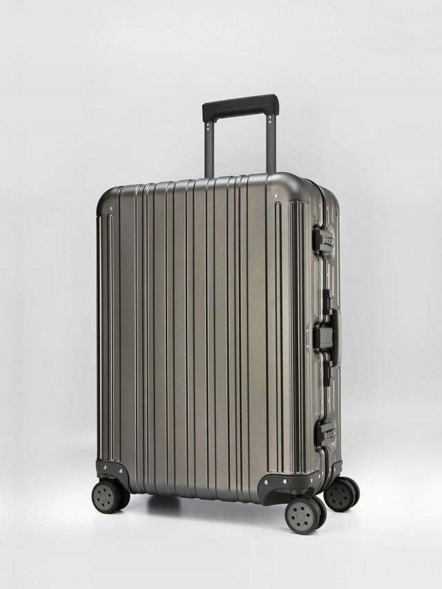 Swiss Style 極緻奢華鋁鎂合金行李箱 - 26 吋 / 鐵灰色