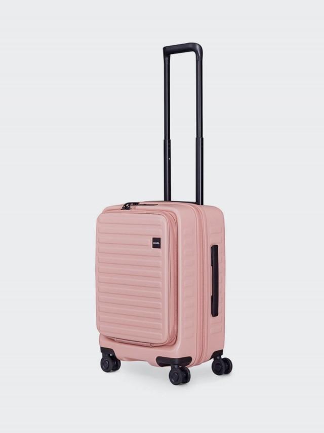 LOJEL CUBO 前開擴充箱 限定色款 - 粉紅 / 21 吋