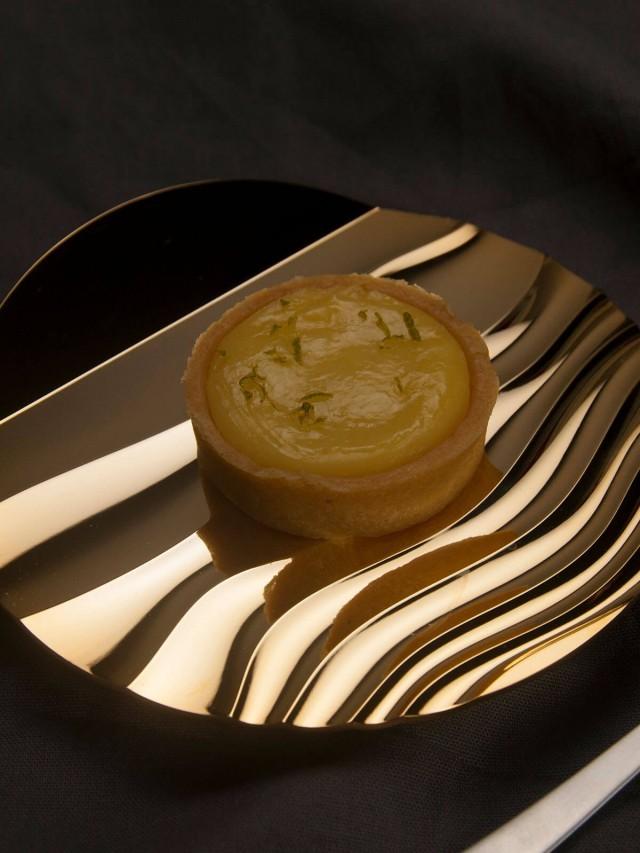 DOUXTEEL Shimmer Platter 月涼如水點心盤 - 亮金