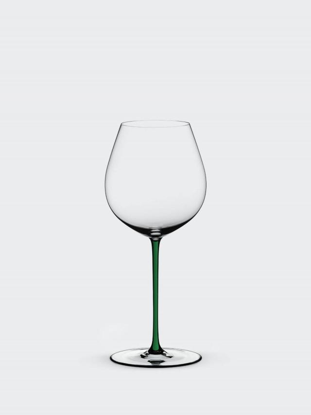 RIEDEL FATTO A MANO - Old World Pinot Noir 黑皮諾手工彩色杯梗紅酒杯 - 綠