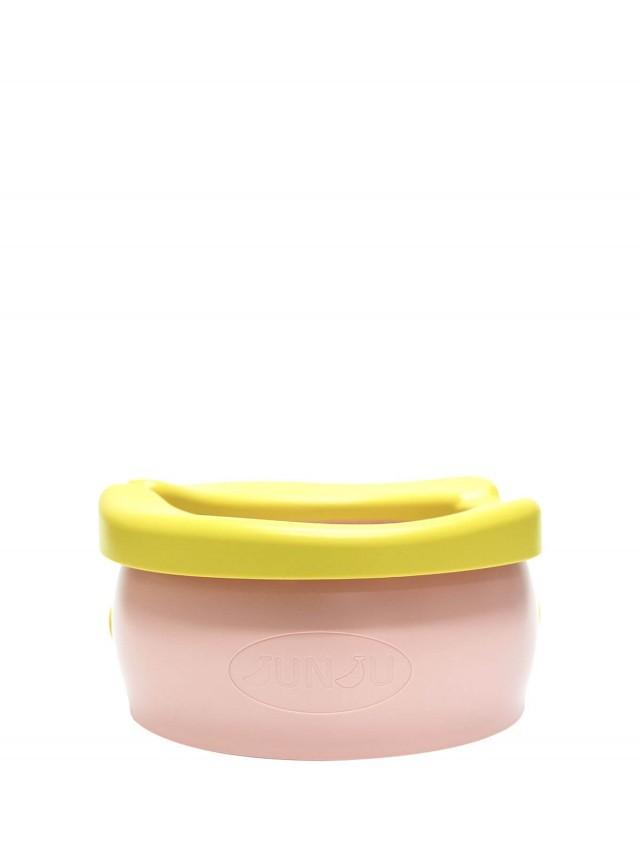 JUNJU 幼兒攜帶戶外香蕉馬桶 - 香蕉糖果粉心