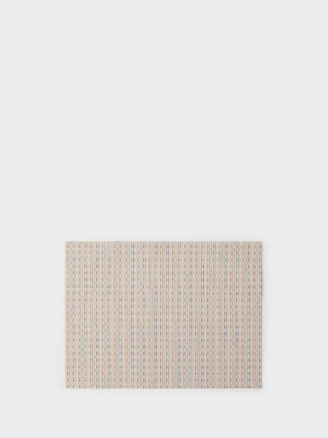 chilewich 餐墊 矩形 Wicker - 糖果粉彩