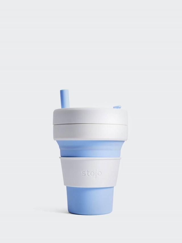 stojo 摺疊吸攜杯 經典款 - 天空藍