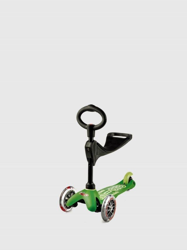 Micro Scooter Mini Micro 3in1 Deluxe 奢華版 - 綠色