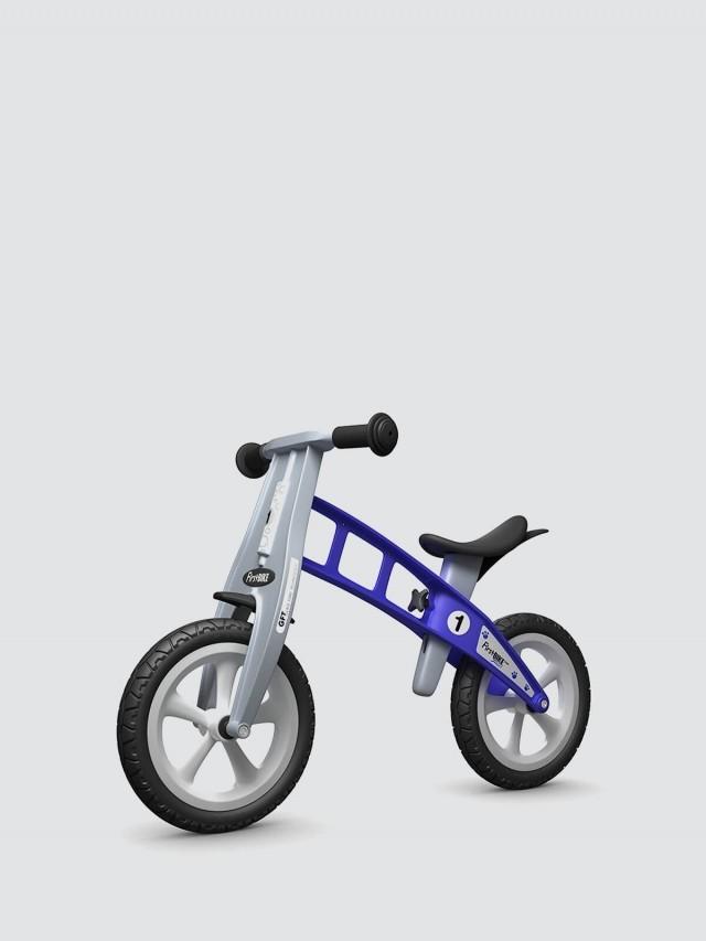 FirstBIKE 兒童滑步車 / 平衡車 - 街頭藍 / 附煞車