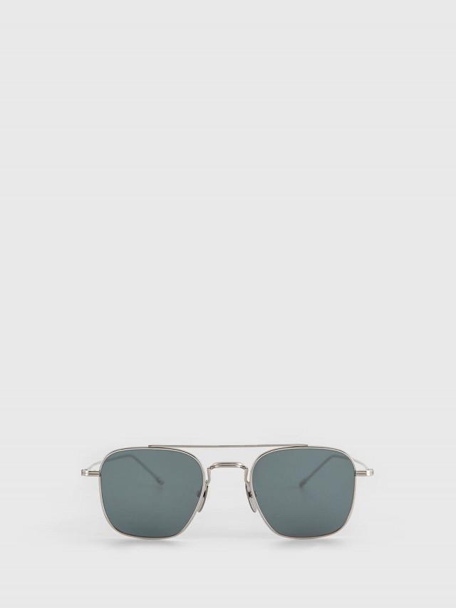 THOM BROWNE 銀色方框太陽眼鏡