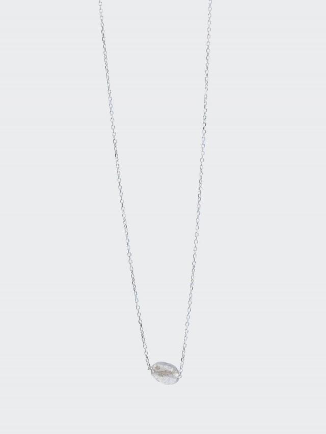 Lélim Jewelry 項鍊 SILVER MONO COLDMETE NECKLACE