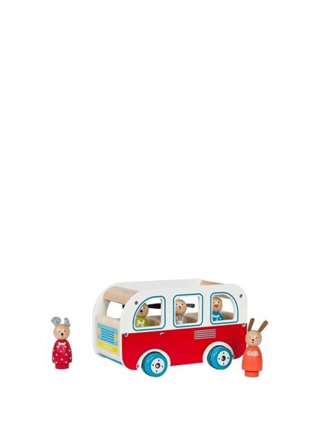 Moulin Roty 木質小巴士