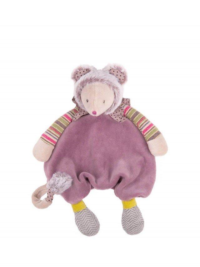 Moulin Roty 帕奇紫鼠娃娃 28 cm