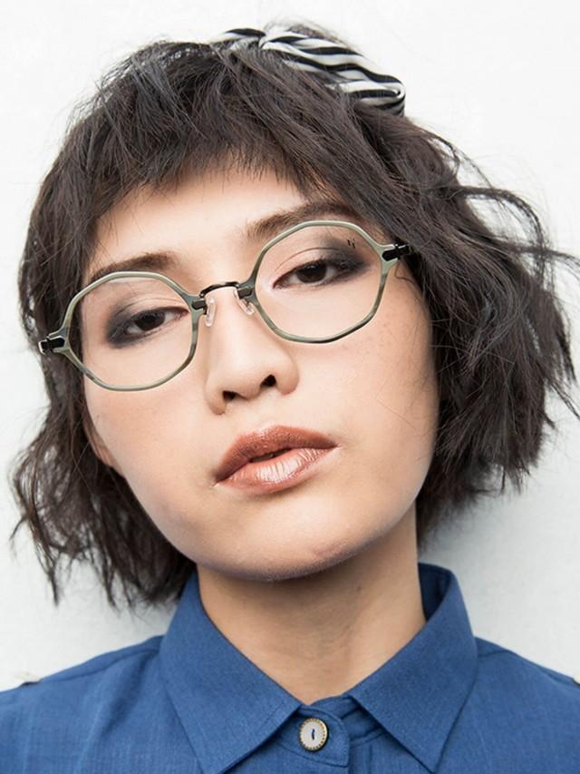 MIRO PIAZZA 復古八角框 平光眼鏡 - PHOEBE 灰綠