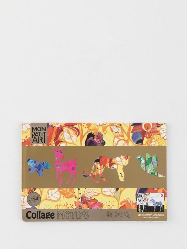 Mon Petit Art 法國拼貼著色書 - 動物