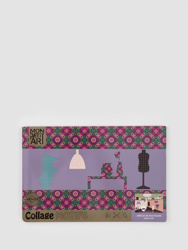Mon Petit Art 法國拼貼著色書 - 櫥窗