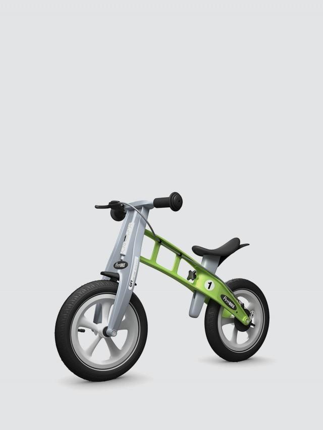 FirstBIKE 兒童滑步車 / 平衡車 - 大蘋果綠 / 附煞車