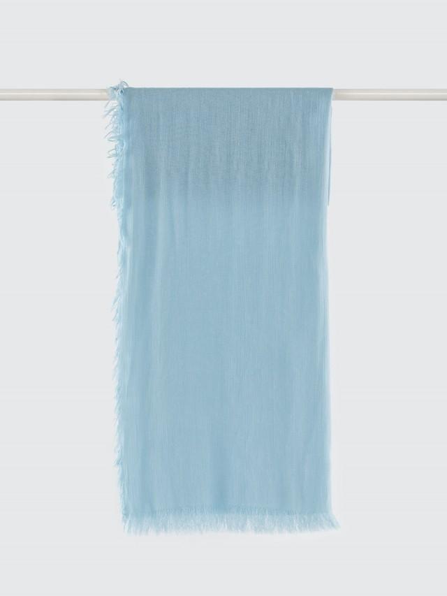 WEAVISM 膠原蛋白胜肽美膚絲巾 - 環保染色 - 湖水藍