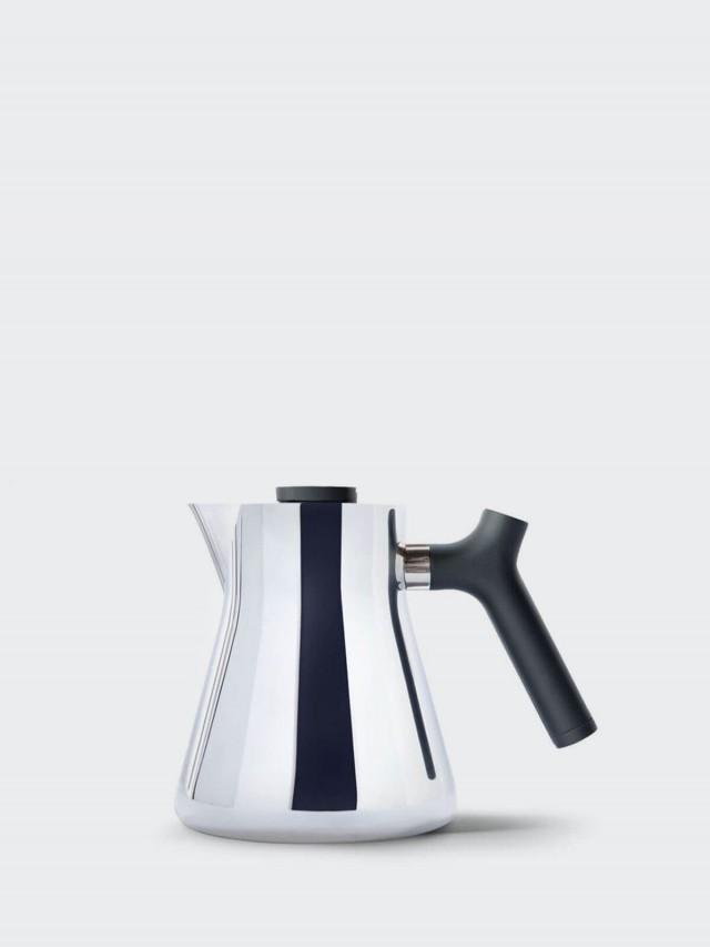 FELLOW RAVEN 不鏽鋼測溫沖茶壺 - 不鏽鋼鏡面