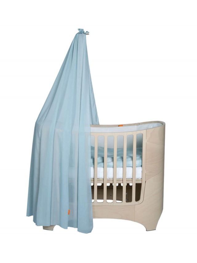 Leander 嬰兒成長床配件 - 罩蓬 x 粉藍
