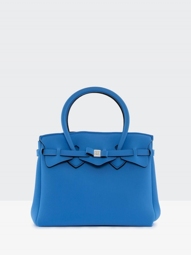 SAVE MY BAG MISS 系列船塢藍超輕量手提托特包