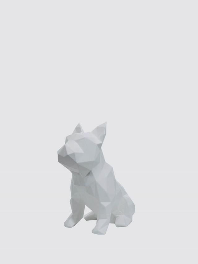 MAROKKA 幾何狗雕塑 x 白色