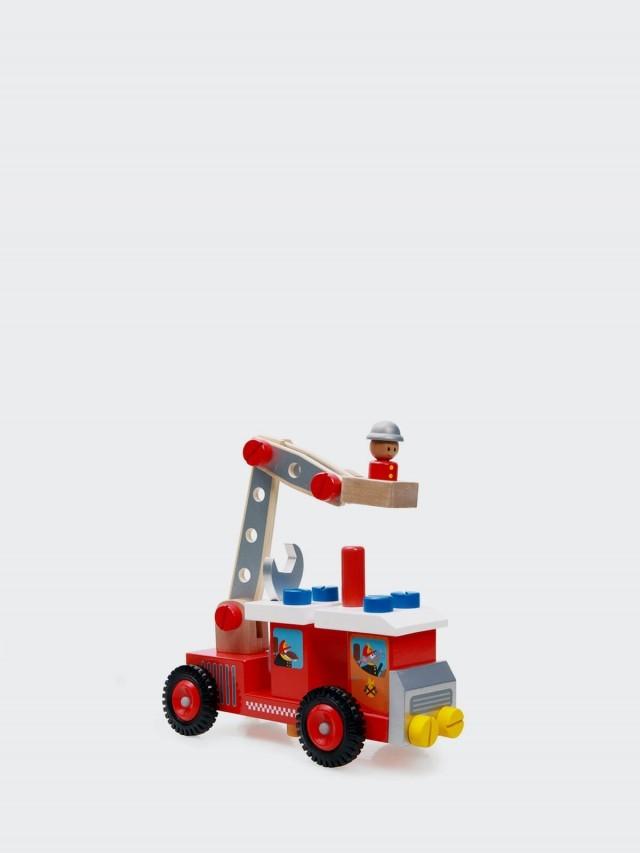 Scratch EUROPE 雲梯消防工程車