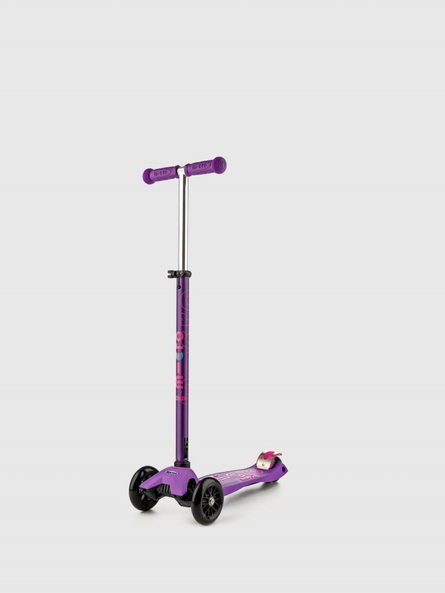Micro Scooter Maxi Micro Deluxe 奢華版 - 紫色