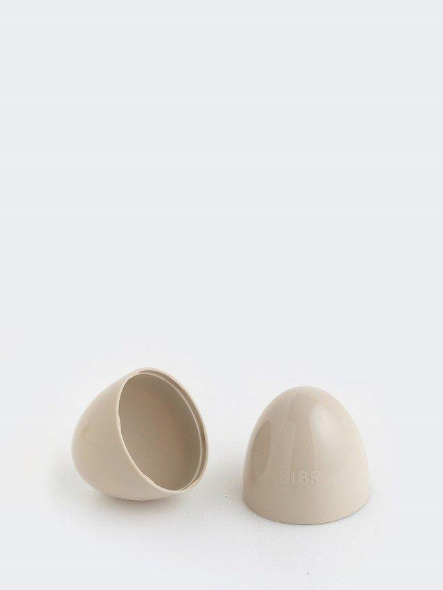 BIBS COLOUR 安撫奶嘴 專用奶嘴蓋 收納盒 - 咖啡色