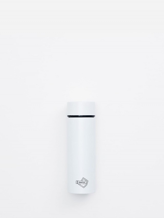 POKETLE 極致輕便保溫瓶 ( 白 ) 120 ml