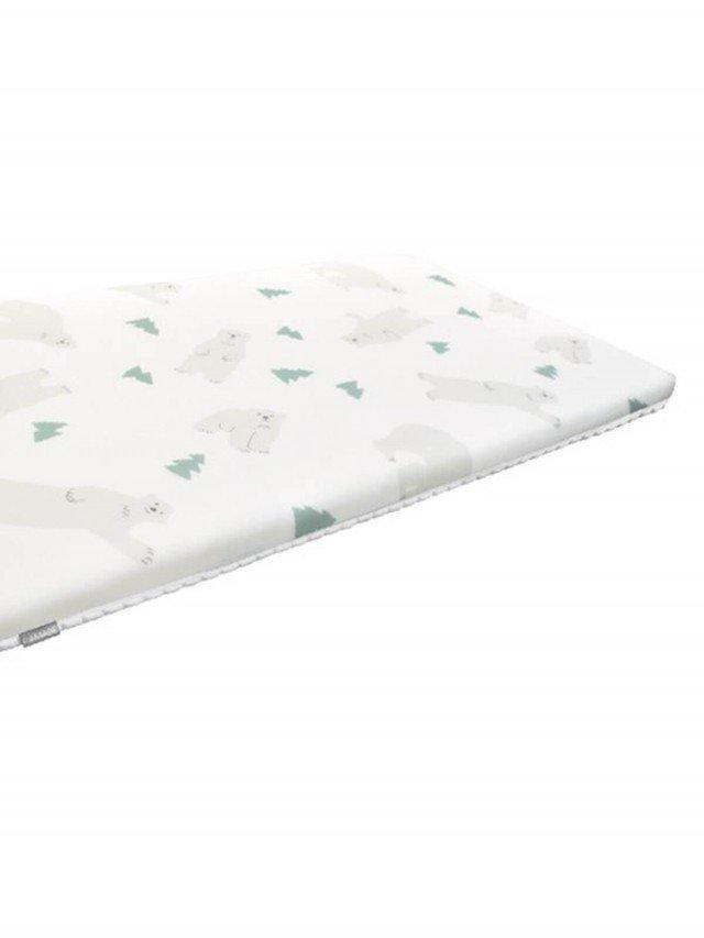 PAMABE 二合一水洗透氣嬰兒床墊 - High Five 北極熊