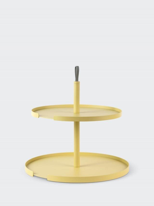 DESIGN BITE 雙層蛋糕架 - 檸檬黃