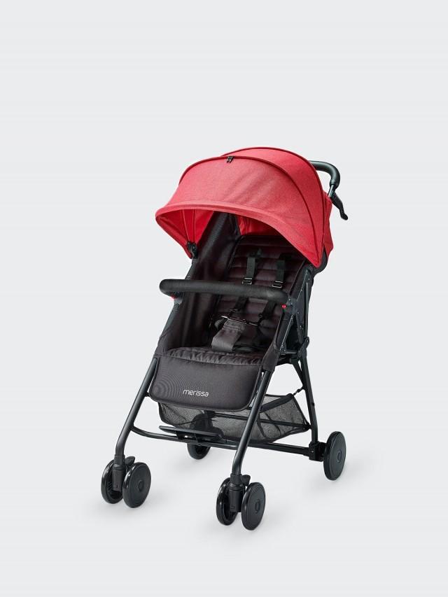 merissa ARCO 都會型嬰兒手推車 - 熱情紅