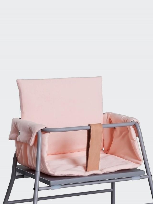 BudtzBendix 丹麥嬰兒高腳椅專用椅墊 - 玫瑰粉