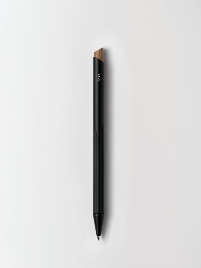 TA+d 燻竹原子筆 - 黑