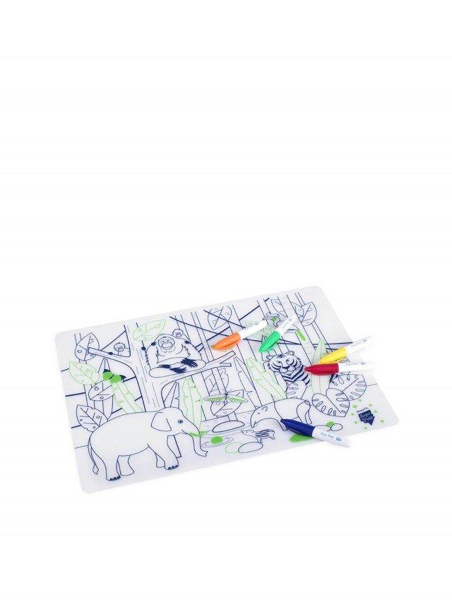 Super Petit 兒童彩繪餐墊 - 叢林動物