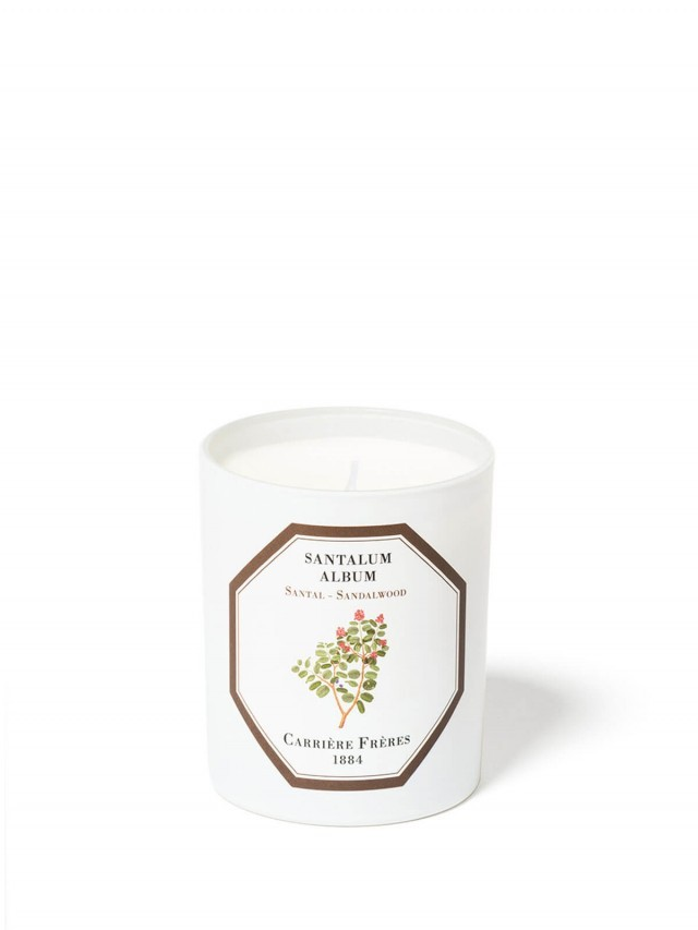 CARRIÈRE FRÈRES 天然香氛蠟燭 檀香 Sandalwood 185g