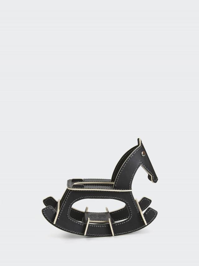 25TOGO DESIGN ROCKING HORSE 搖搖馬 - 黑色
