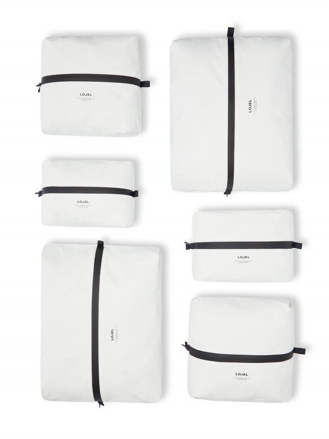 LOJEL Slash 衣物收納袋 ( 6 入裝 ) - 白色