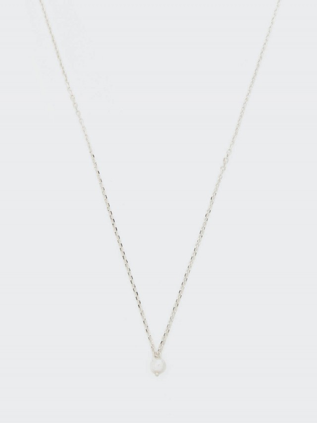 Lélim Jewelry 項鍊 SILVER MONO PEARL NECKLACE