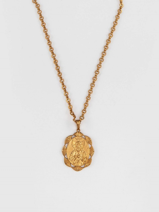 roberto cavalli 拜占庭式古幣長鍊