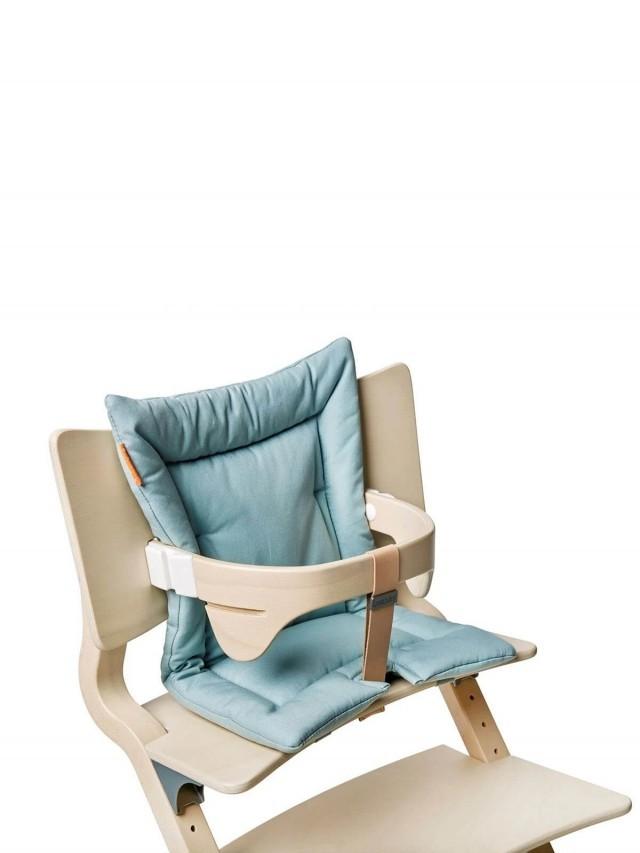 Leander 新款二代成長型餐椅配件 - 坐墊 x 粉藍