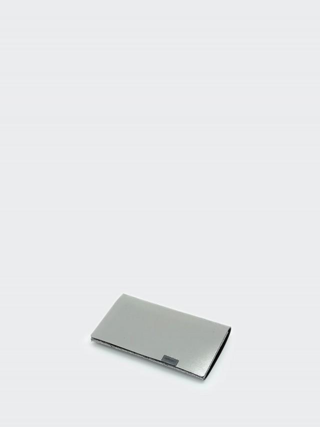 Shosa 所作 名片夾 / 卡夾 - 時尚內斂款 - 銀黑