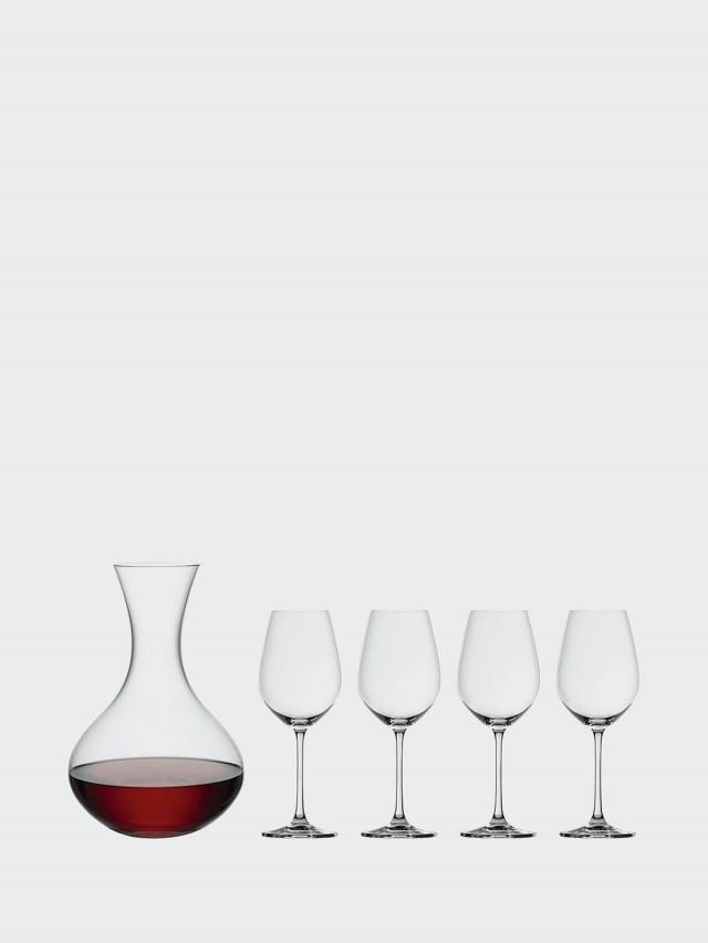 SPIEGELAU Salute 醒酒器 + 酒杯組