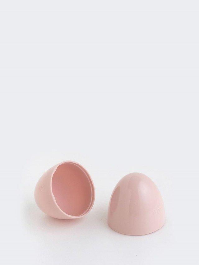 BIBS COLOUR 安撫奶嘴 專用奶嘴蓋 收納盒 - 粉色