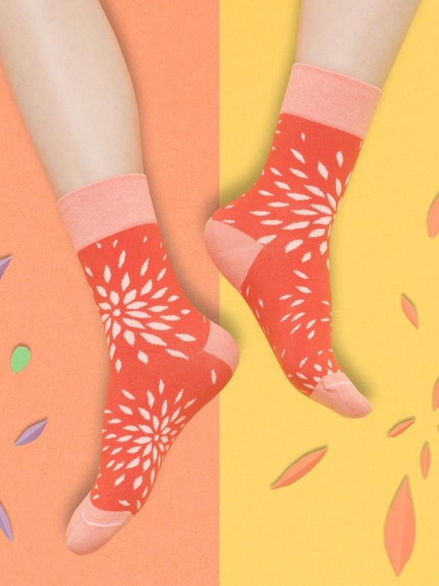 sokker 秋菊盎然 4 分之 3 襪