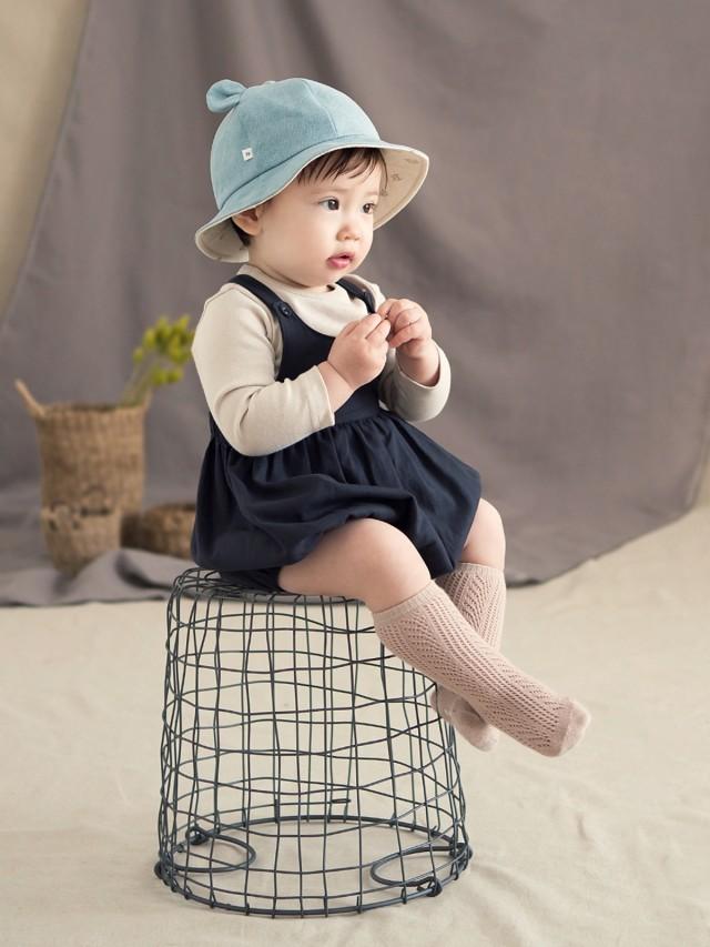 HAPPY PRINCE Happy Prince Deo 嬰童純棉麻遮陽帽