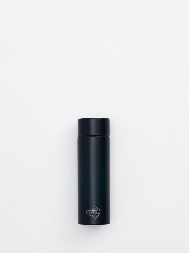 POKETLE 極致輕便保溫瓶 ( 黑 ) 120 ml